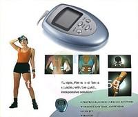 Slimming Massager  Burn Fat GYM Muscle Massager Slimming Machine Electronic Pulse Body Massager Free Shipping 48pcs/lot