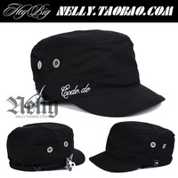 Heybig lockin funky poppin hiphop military hat cadet cap