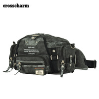 Cross charm autumn and winter casual waist pack cross-body men's combination mountaineering bag
