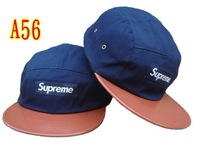 2013 New arrival Supreme 5 Panel Camp Caps Leopard Snapbacks hats cheap Adjustable hat hot sale !
