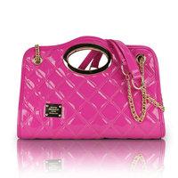 Fashion 2012 Women chain bags women's handbag shoulder bag japanned leather candy color street bag