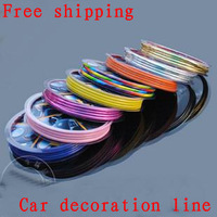 Free shipping Car decoration decoration line modification  The car is stuck