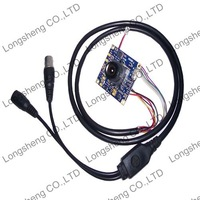Mini 2.8mm 100 Degree SONY Effio-P 960H 700TVL CCD Board camera Super WDR CCTV Cameras OSD Menu Control