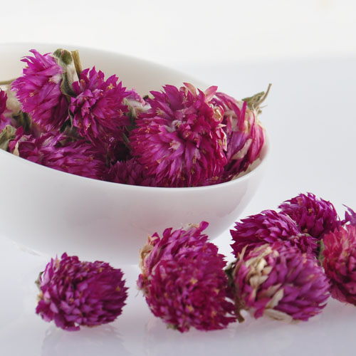 Flower globe amaranth flower tea special grade eye beauty of flower tea 50(China (Mainland))
