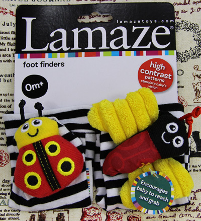 Lamaze Lamaze socks the sound rattles socks bees and beetles paragraph color card installed(China (Mainland))