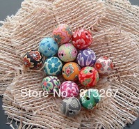 DIY jewelry accessories wholesale 10 mm fimo round bead 200pcs/LOT