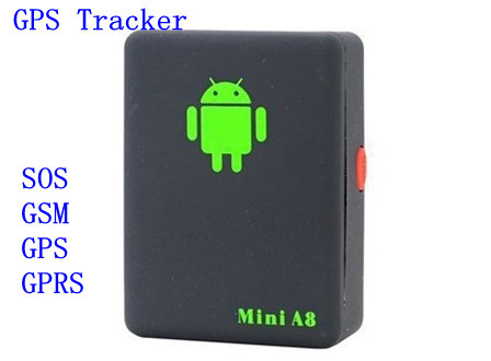 Mini Global Real Time GPS Tracker GSM/GPRS/GPS Tracking Device With SOS Button,Free shipping(China (Mainland))