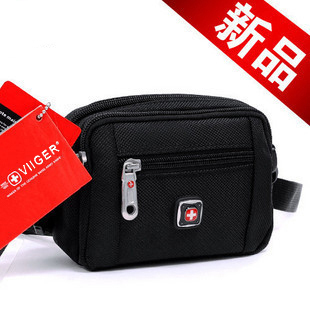 Swiss army knife male shoulder bag messenger bag small bag outdoor waist pack small shoulder bag messenger bag dual-use package(China (Mainland))