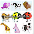 New Arrivals! 80 pcs/Lot, Free Shipping, Various Walking Animal Pet Balloons, Baby's Toy & Gift.
