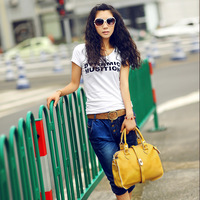 Free shipping Genuine leather women's handbag 2012 female candy color handbag messenger bag business bag b038