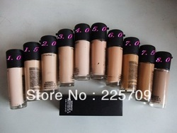 best sell Professional Brand matchmaster Liquid Foundation spf15 10 different colour 35ML free shipping(China (Mainland))