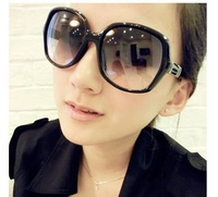 Hot selling Retro large frame sunglasses 5pieces/pack A1265wholesale