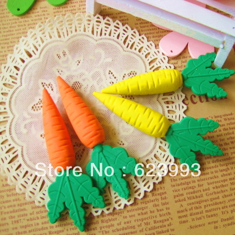 Wholesale bulk retail cartoon cute food shaped erasers Style eraser cartoon food rubber eraser stationery(China (Mainland))
