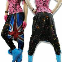 European style Summer 2014 Loose Harem pants women Casual hip hop Dance jazz pants sweat pants harem sweatpants dance pants