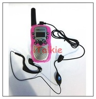 2 pcs Free shipping earpiece/ earphone for bell south T-388 walkie talkie small radio headphone.