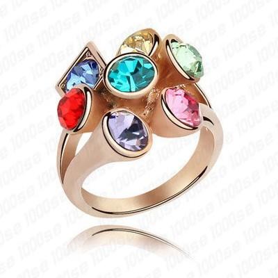 Обручальное кольцо Swarovski Elements 18K & Swarovski 4171 кольцо swarovski 1062754