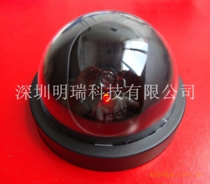 Supply: large high simulation camera LED flashes hemisphere simulation camera intrusion switch(China (Mainland))