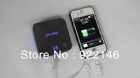 FULL Capacity!DOCA  8400 mAh Power  USA Plug+Travel Move portable Bank for iPad iPhone Tablet pc, Free Shipping