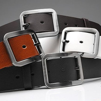 2013,Classic Japanese word buckle belt, men's belt, Genuine  leather belts, leisure wild tide male belt