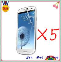 X5 Clear LCD Screen Protector Film For Samsung Galaxy S III SIII S3 i9300