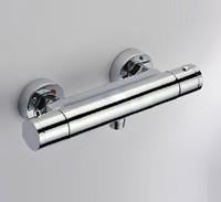 Solar energy mix water valve Chrome Thermostat  Shower  Faucet  Mixer  bathroom,free ship