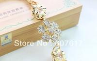 flower waist gold-plated chain women's chain/belt