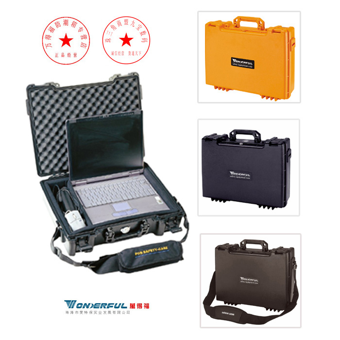 Wonderful pc-4613 notebook tool box outdoor safety box equipment slr lens protective case(China (Mainland))