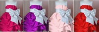Pretty girls dress/Four colors baby princess dress with big bowknot/2013 Latest design