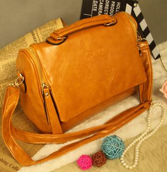 Commercial 2013 ol shoulder bag soft leather zipper magnetic buckle flip women's cross-body handbag bag