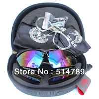 5 Lens  cycling glasses outdoor sports sunglasses polarized lens bicycle fishing glasses equipment to protect the eye goggles