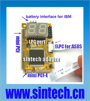 Mini PCI-E+mini PCI+ELPC+ LPC port pc motherboard diagnostic post debug test card for laptop