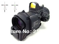 Elcan 1-4X SpecterDR Type Red Dot Sight Scope w/ Brigntness Sensitive Viewer Docter Sight #Tan, 1-4X32F2 with HD-600 Free ship