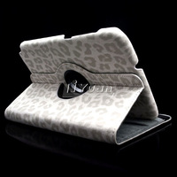 n5100 cover 360 rotation ,Fashion leopard PU Leather Case Cover for Samsung Galaxy Note 8 0 N5100 1pcs free postage