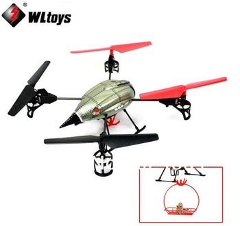 WL V999 2.4G 4CH RC Quadcopter Beetle Gyro With Rescue Basket Function V959 V949 V929 UFO Up Toy