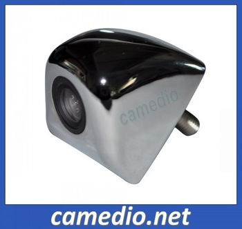 free shipping  good quality  metal housing  universal mirror car camera for rear view/side view 170 degree
