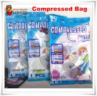 Vacuum Compressed Bag Clothes Vacuum Space Saver Compressed Storage Bag 50cm--100cm 5 PCS Free Shipping