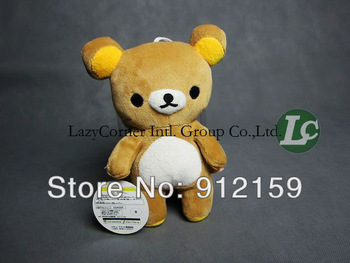 Wholesale 20pcs 7.8'' 20cm rilakkuma bear plush doll Cute Bear Dolls Toy Children Gifts Free Shipping