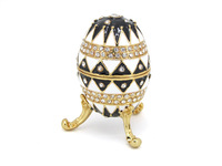Holiday Decoration  Metal Egg Shape Trinket Box For Retail&Wholesale Free Shipping(C3274)