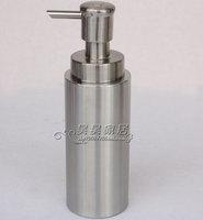 Stainless steel foam bottle emulsion hand sanitizer bottle cylindrical scrub