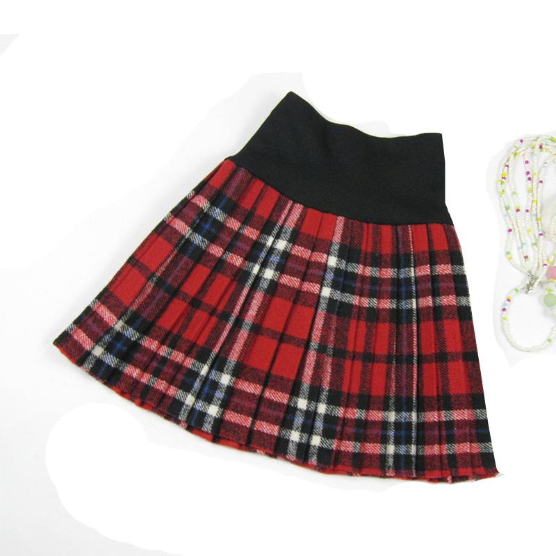 popular plus size pleated plaid skirt aliexpress