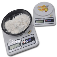 Free Shipping Mini Electronic Household Kitchen Weight Scales Weigher Tool + Peeled Function 1-5000g