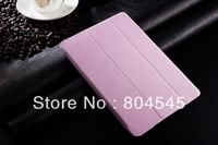 Luxury Cross Pattern Leather Case For iPad Mini Ultra Thin Retro Fashion Smart Cover With Stand Magnetic,8 Colors P361