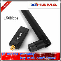 Free Shipping Leguang N26 Cheap Mini 150Mbps USB WiFi Wireless Network Card 802.11 n/g/b LAN Adapter with Antenna 6dbi