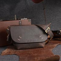 2013 genuine leather messenger bag small shoulder bag cowhide men's handbag