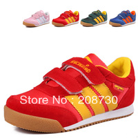 Bob slip-resistant child casual shoes female child skateboarding shoes slip-resistant genuine leather shoes children size