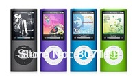Free shipping,2013 Brand New 4GB MP4 player with 4th gen generation MP4 Player FM Radio