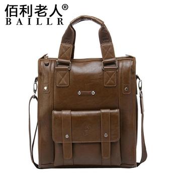Free Shipping! Brand New men shoulder messenger bag, business casual fashion handbag