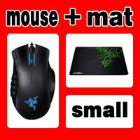 Original Razer Naga Gaming Mouse + Orignal Razer Goliathus Small size, Free & Fast Shipping