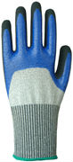 High grade 3/4 nitrile and sandy nitrile coated safety gloves cut 5 gloves(China (Mainland))