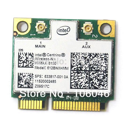 Intel Centrino Advanced-N WiMAX 6150 612BNX HMW Half Mini PCI-e WLAN wifi Card WiMax for IBM free shipping(China (Mainland))